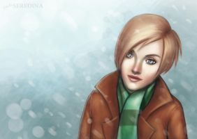 winter theme by LadaSeredina