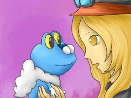 The Princess and the Froakie by Lunaoverthecow