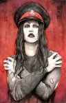 Joey Jordison from Murderdolls by Shinigami-uta