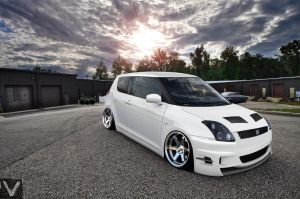 Suzuki Swift -Snow White Verison- by vladiwosok