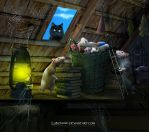 The abandoned attic by Lubov2001