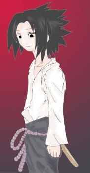 Photoshop_Sasuke by Ditt-The-SoulEater