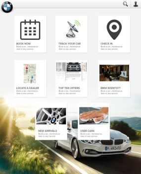 Bmw-homescreen by MrAtef