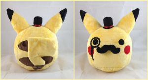 Fancy Pikachu Plush by LiLMoon