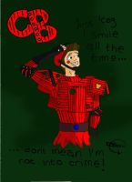 CB - The Red Caboose Colour by Black-Lace-Lollypop