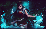 League Of Lengends Ahri Tag by Dvilgabrimhf