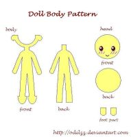 Doll pattern by odilzz