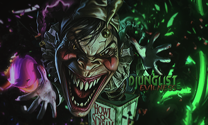 Evilness by djunglistGFX