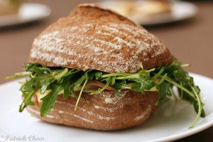 Ham-cheese-roquette 'wich by patchow