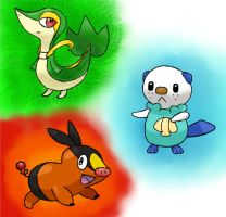 Starters by LugiaLuvr13