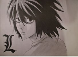 L - Death Note by Uzumaki18