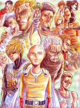 One punch man 2013.20 by darkpiwo