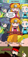 ComicComish. PPGZ and the hypnotist P2 by BiPinkBunny