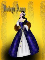 Anne Boleyn by MathildeE