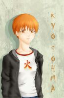 Kyo Sohma_color_ by DreamerWhit