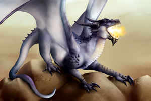Dragon commission by Kiibie