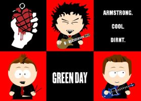 Green Day - South Park by Sam-x-Frank
