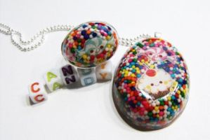 Candy sprinkles set -Ring and by 2littleKisses