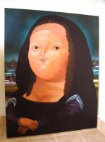 Fatty Mona Lisa. by johnhoys