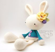 Spring Bunny for a Mother-to-Be 2 by amorningcupofjo