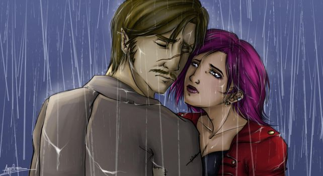 Want you under the rain by AngieParadiseeker