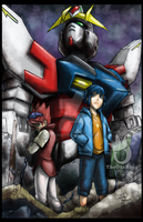 Gundam Build Fighters 01 by sykoeent