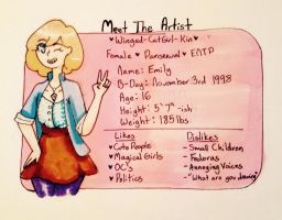 Meet The Artist by Winged-CatGirl-Kin