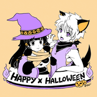HxH - Happy x Halloween x 2011 by Chizuri