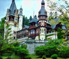 Peles Castle by Antttonia