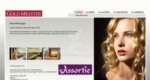 Goldmiester Web Desing by AjansTR