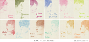 EXO Aura Series by shocolette