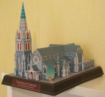 Christchurch Cathedral Papercraft by x0xChelseax0x