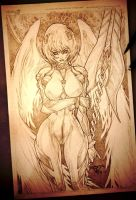 Rei Ayanami angel of the death by pant