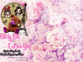 Bit by Bit, I Love You - Fanfic Background [PNG] by xElaine