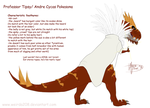 Behold Tyrantrum Pokesona by Weirda208