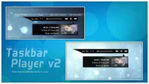 Taskbar Player v2 by milano88