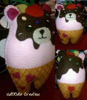 Strawberry Sundae Bear by Gd00dle