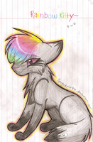 Rainbow kitty by Spottedfire94