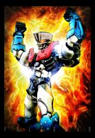 Mazinger 1901 03B color by AngeloFalconio