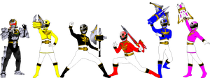 Megaforce With Weapons for asrockrpg by rangeranime