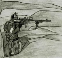 Rebel Sniper by SimonovFox