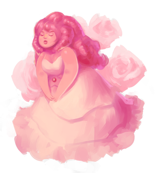Rose Quartz by Sword-Dance