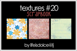 TEXTURES 20: SCRAPBOOK by lifeisdolce