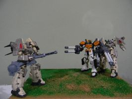 Gunpla Diorama by 509freak