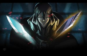 Sword Art Online - Kirito! by fujimotion