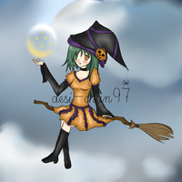 .:Witch:. by desi-chan97