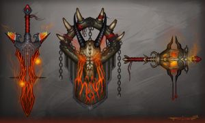 Weapons concept by itzaspace