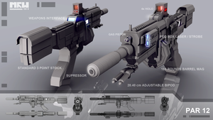 MRW PAR 12 Assault Rifle by JPGProduction
