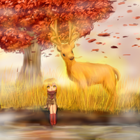 At fall.(Contest entry) by kittimitti