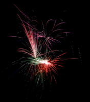 July 4th 2013 Fireworks 5 by WayvDesigns